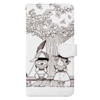 夏の思い出 Book-style smartphone case