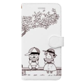 夏の思い出Ⅱ Book-style smartphone case