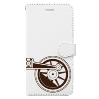 アプト式機関車動輪 Book-style smartphone case
