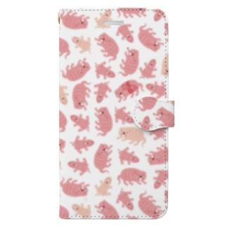 デバ Book-style smartphone case