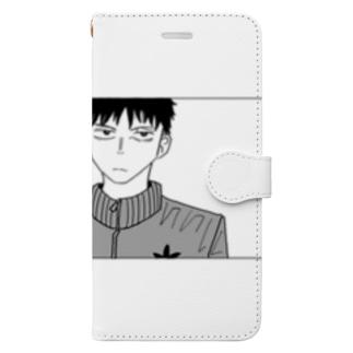 篠宮先生 Book-style smartphone case