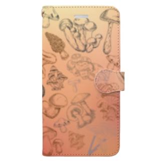 キノコ!キノコ!キノコ‼︎ Book-style smartphone case