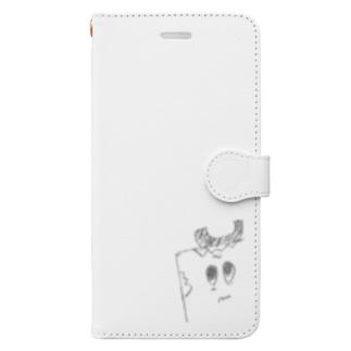 ユトリデラックスのユトリデラックス(イラスト) Book-style smartphone case
