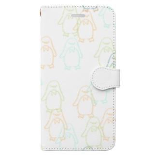 ペンちゃんず(pt2) Book-style smartphone case