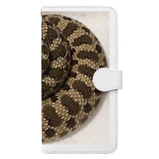 セイブシシバナヘビ🐍 Book-style smartphone case