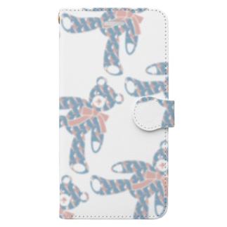 テディベア好きのためのSAME Book style smartphone case