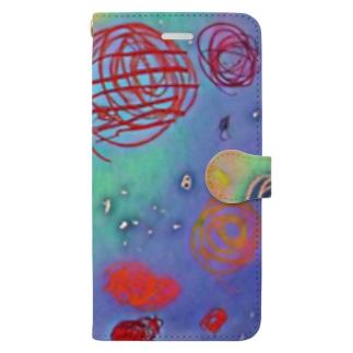 宇宙 Book-style smartphone case