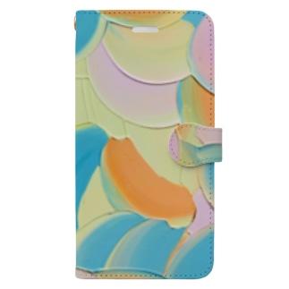 Mandarins summer  Book-style smartphone case