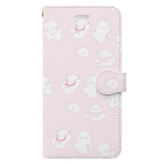 ねこねここねこ Book-style smartphone case