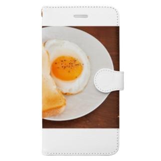 ブレイクファースト Book-style smartphone case