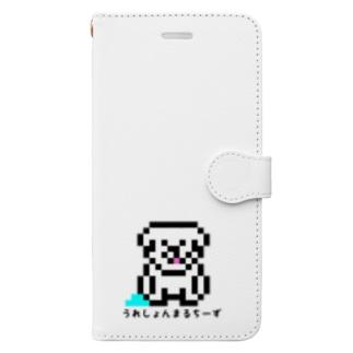 うれまる Book-style smartphone case