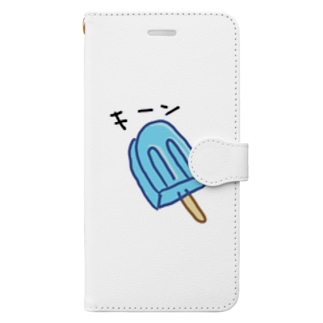 キーンなアイス Book-style smartphone case