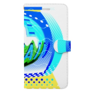 🗻Blue Mountain🗻 Book-style smartphone case
