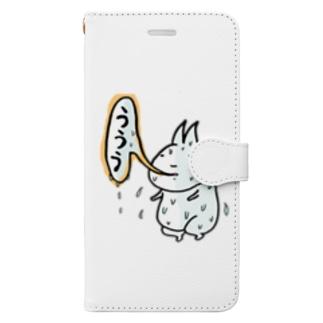 元祖ううう Book-style smartphone case