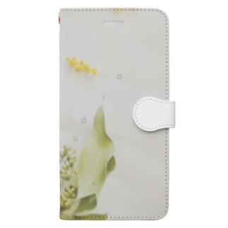 丁子草とか Book-style smartphone case