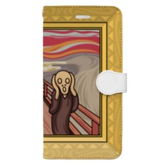 叫び! Book-style smartphone case