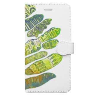 全部愛して。 Book-style smartphone case