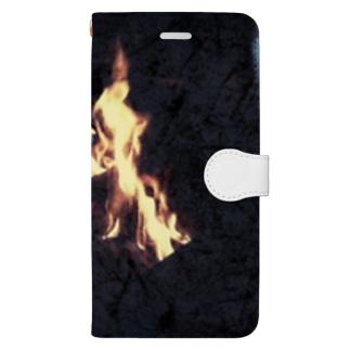 灯夜 Book-style smartphone case