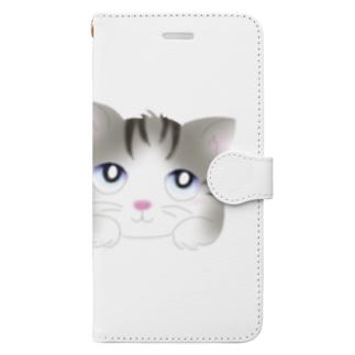 にゃんこちゃん Book-Style Smartphone Case