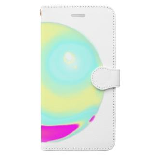 ホログラム球体 Book-Style Smartphone Case