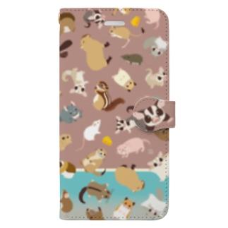 げっ歯!〜フクロモモンガは有袋類だけど〜のスマホケース Book-Style Smartphone Case