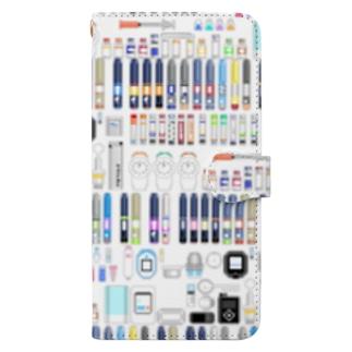 インスリン100周年 Book-Style Smartphone Case