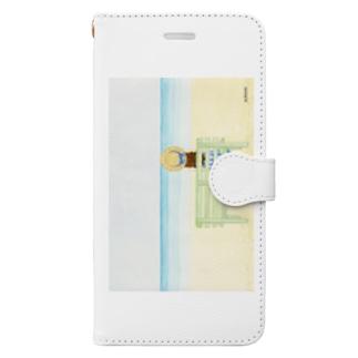 「夏の日の約束」 Book style smartphone case