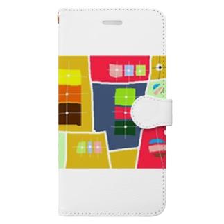 まーマジョのマジョの箱 Book-style smartphone case
