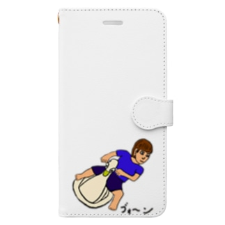 おまる、ハングオン Book-style smartphone case