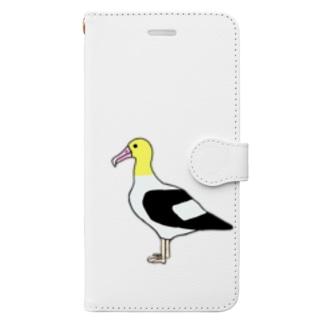 アホウドリ Book-style smartphone case