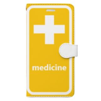 薬 medicine 💊 Book-Style Smartphone Case