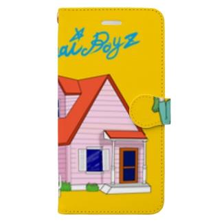 売れない☆ボーイズ Book-style smartphone case