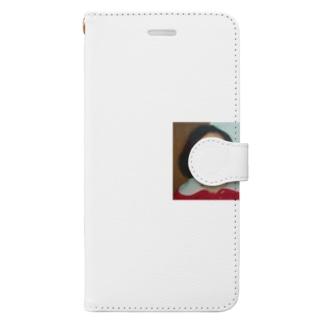 小島ふかせ画伯のボッタクリ商売の小島ふかせの幼少期です。 Book-Style Smartphone Case