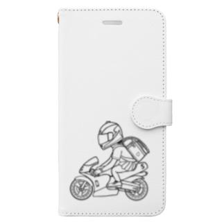 ポケバイ Book-style smartphone case