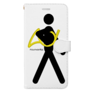 The Walking Hornist w/o Logo Book-style smartphone case