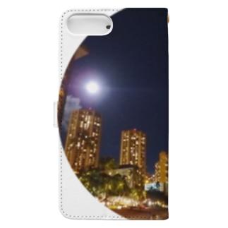 WAIKIKI NIGHT Book-style smartphone case