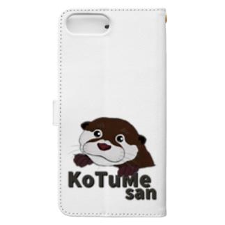 コツメさん Book-style smartphone case