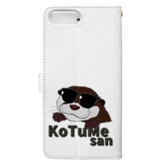 コツメさん -Cool- Book-style smartphone case