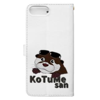 コツメさん -Cute- Book-style smartphone case