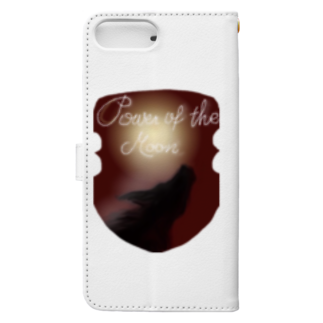 タマのちょびりげ❣️のPower of the moon Book-style smartphone caseの裏面