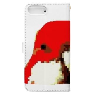 鳥頭くん Book-style smartphone case