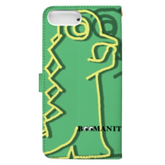 Dino -ダイノ- (Boomanities) Book-style smartphone case