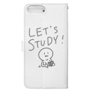 LET'S STUDY Book-style smartphone case