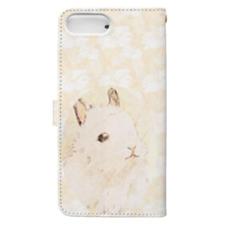 うさぎ Book-style smartphone case