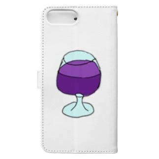 ジュース Book-style smartphone case