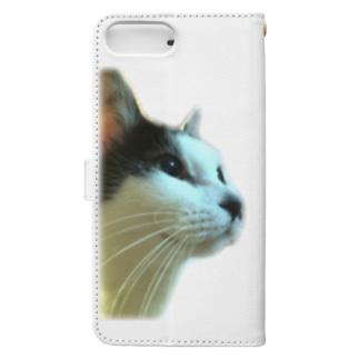 わがはいは猫であるぞ。 Book-style smartphone case