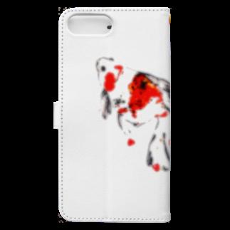shin88×××のgoldfish Book-style smartphone caseの裏面