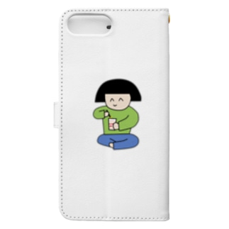 ブティック・昭和の娘の昭和のスマホケース Book-style smartphone caseの裏面