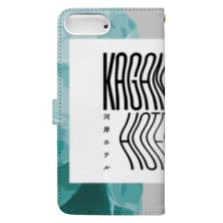 kaganhotel stone design goods Book-style smartphone case