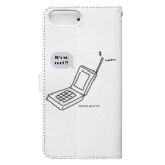 ガラケー Book-style smartphone case